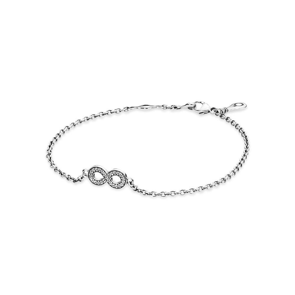 Symbol Of Infinity Bracelet Clear Cz Pandora Jewellery Online Store