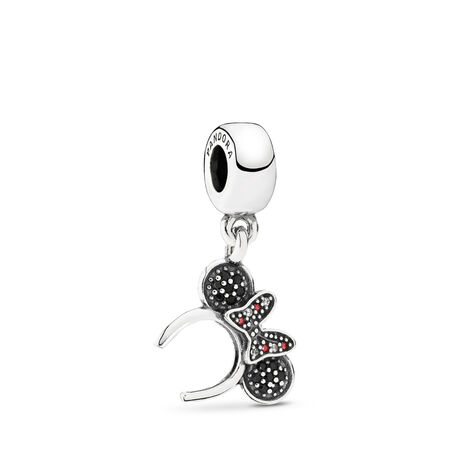 Disney, Minnie Headband, Sterling silver, Mixed stones - PANDORA - #791562NCK