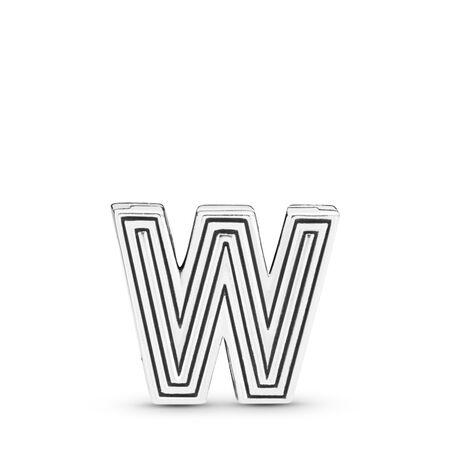 Pandora Reflexions™ Letter W Charm