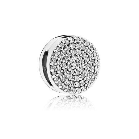 PANDORA Reflexions™ Dazzling Elegance Charm, Clear CZ