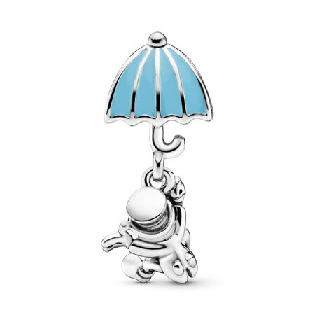 Charm pendentif Disney, Jiminy Cricket, émail bleu