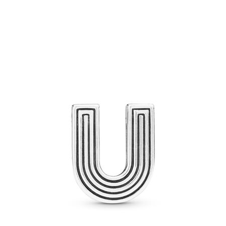 Pandora Reflexions™ Letter U Charm