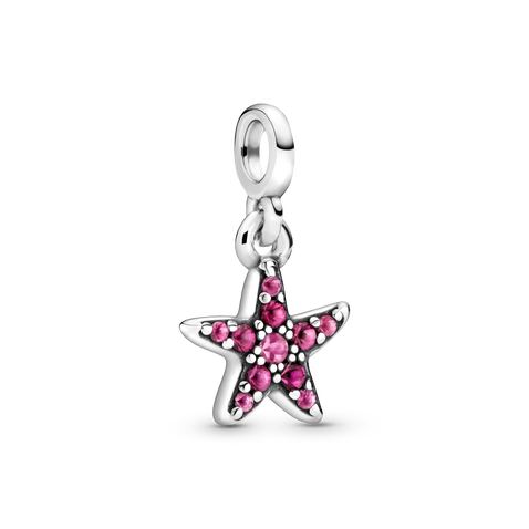 My Pink Starfish Dangle Charm