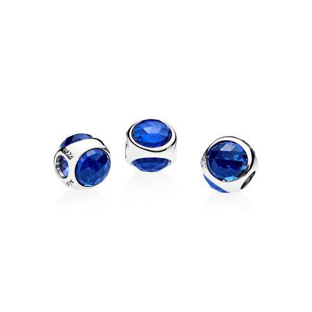 Radiant Droplet, Royal Blue Crystals