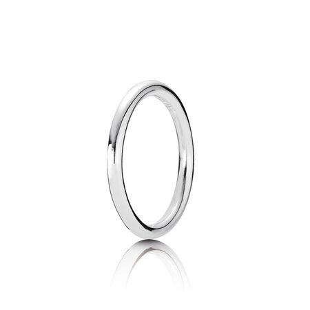 Quietly Spoken Silver Ring