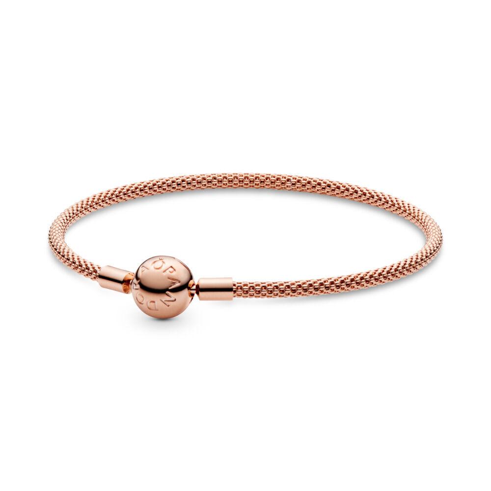 1988f0bfd PANDORA Rose™ Mesh Bracelet