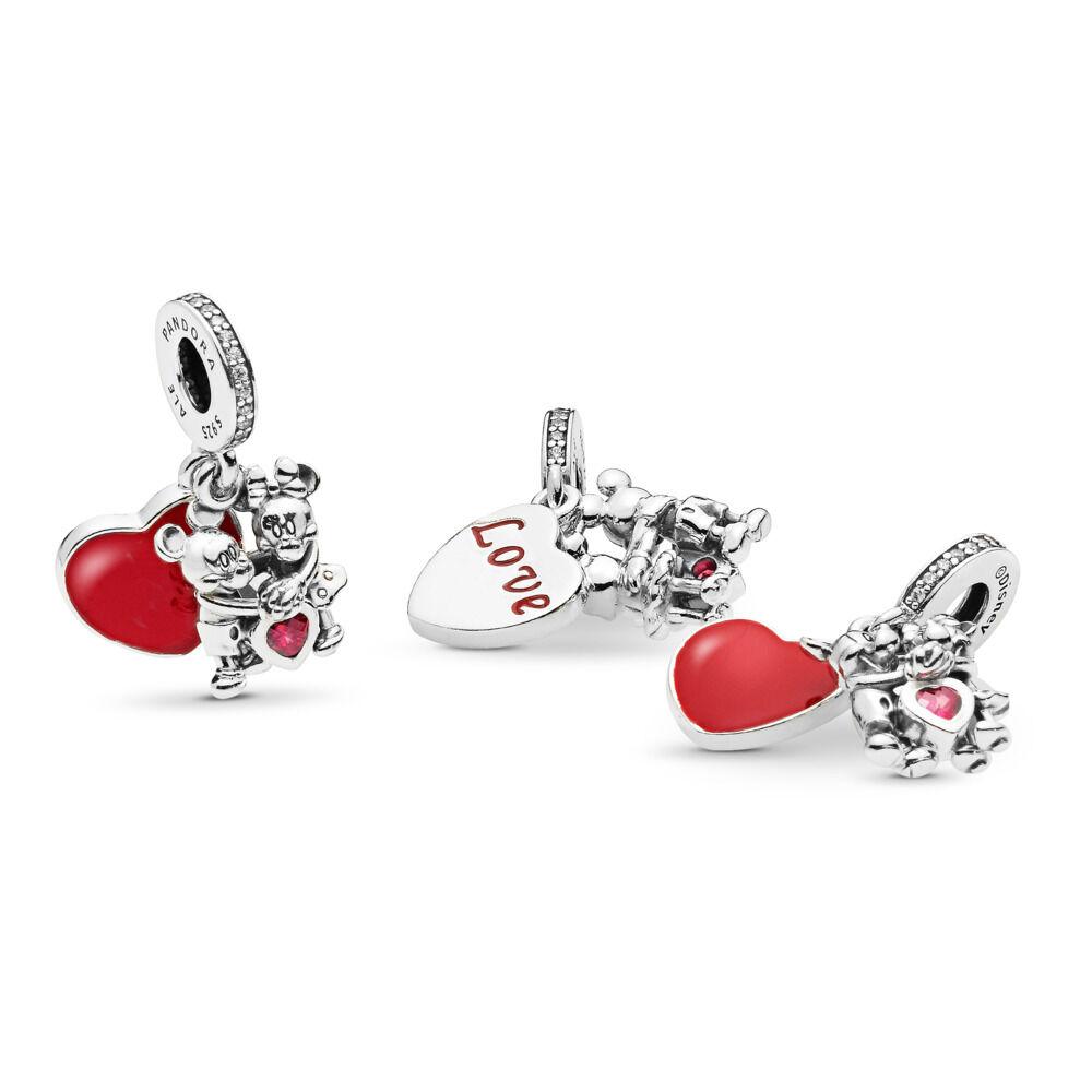 Minnie Amp Mickey With Love Disney Charm