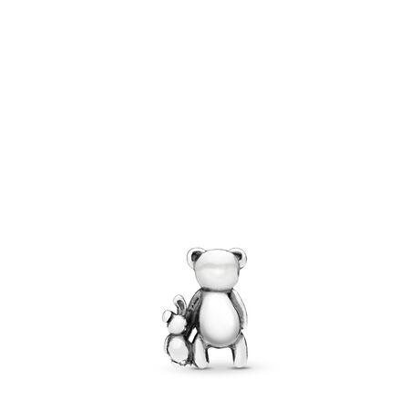 Perfect Pals Petite Charm, Sterling silver - PANDORA - #797054