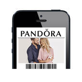 Carte-cadeau électronique PANDORA