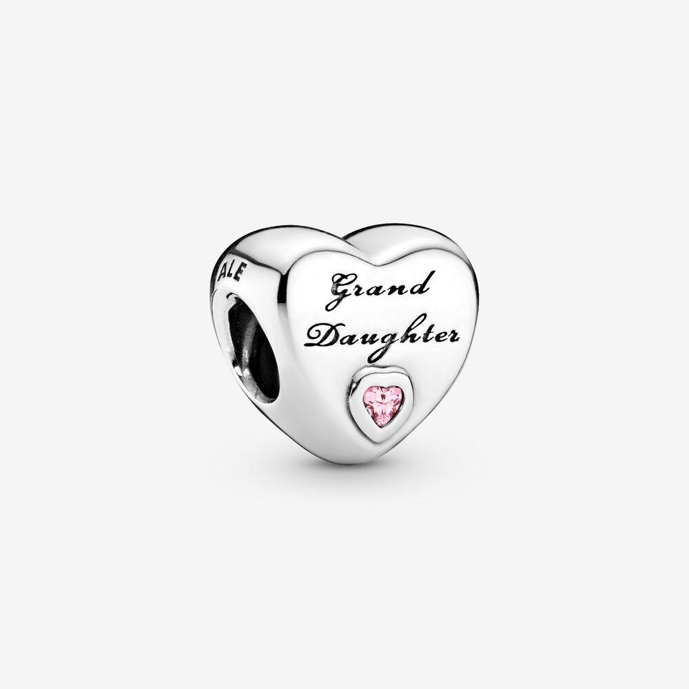 Granddaughter Heart Charm | Sterling silver | Pandora Canada