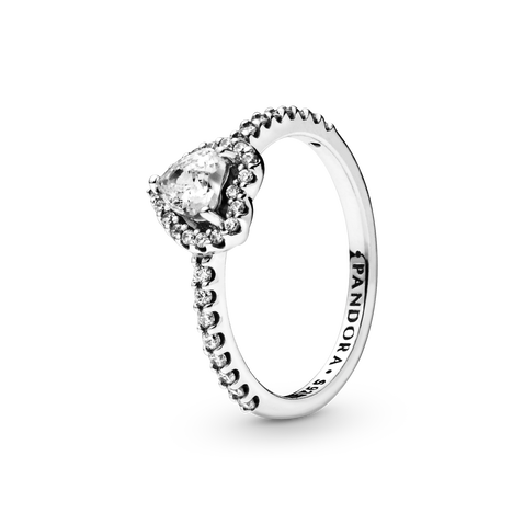 Elevated Heart Ring