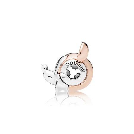 Disney, charm ESSENCE Portrait deux-tons de Mickey, PANDORA Rose