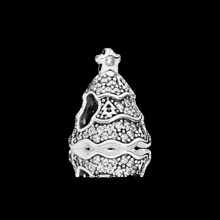 Sapin étincelant, cz incolore