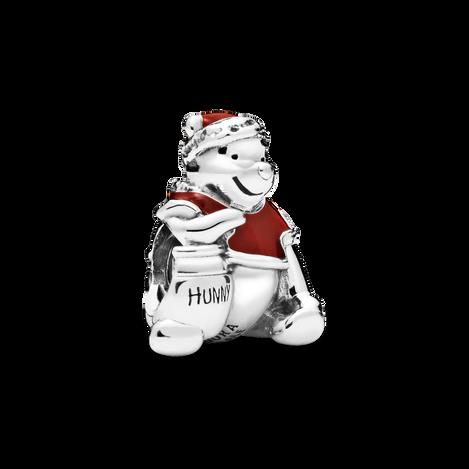 Disney Winnie the Pooh Hunny Pot Christmas Charm