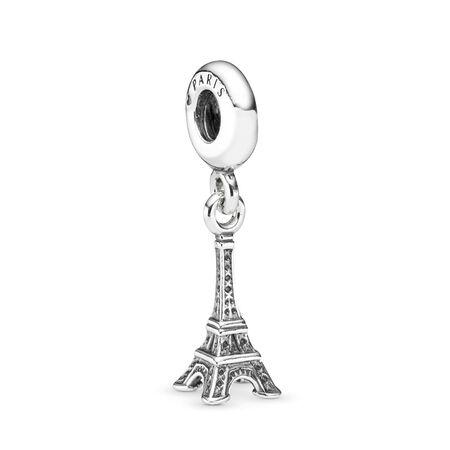 La tour Eiffel, Argent sterling, Aucun autre matériel, Aucune couleur, Aucune pierre - PANDORA - #791082
