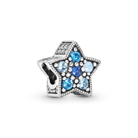 Charm Étoile lumineuse, cristaux multicolores