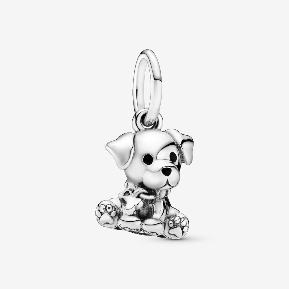 Labrador Puppy Dangle Charm | Dog Charms | Pandora US | Argent ...