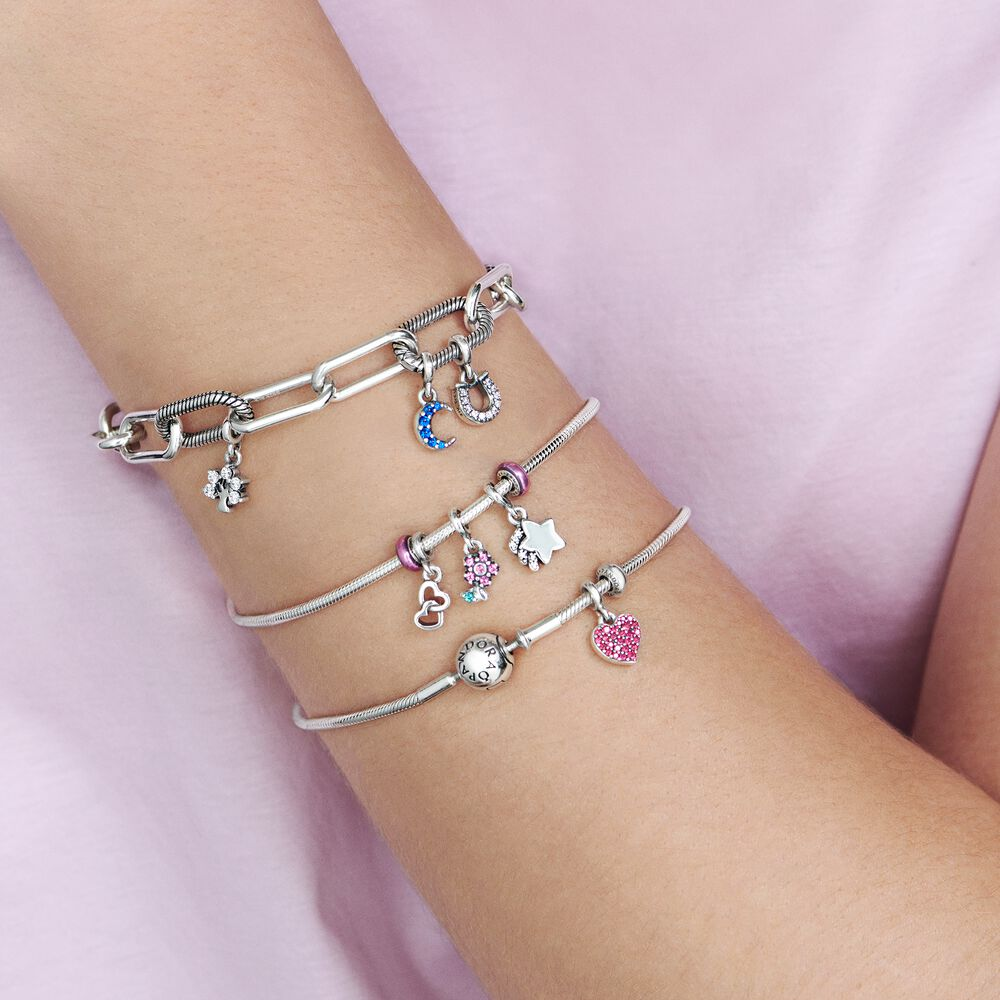 Pandora Me Slender Snake Chain Bracelet Sterling Silver Pandora Canada