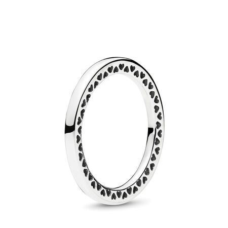 Classic Hearts of PANDORA, Sterling silver - PANDORA - #196237