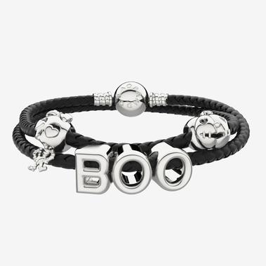 Ensemble de bracelets à breloques Halloween la peur est dans l'air