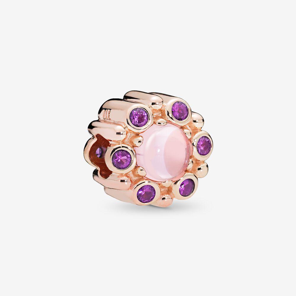charm pandora couleur rose