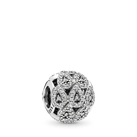 Cascading Glamour, Clear CZ, Sterling silver, Cubic Zirconia - PANDORA - #796271CZ