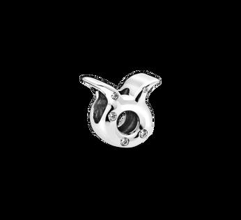 Charm du zodiaque scintillant du Taureau