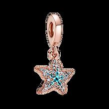 Sparkling Starfish Dangle Charm