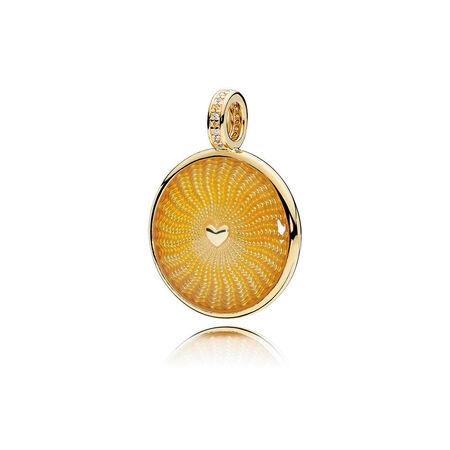 Limited Edition Rays of Sunshine Pendant, PANDORA Shine™