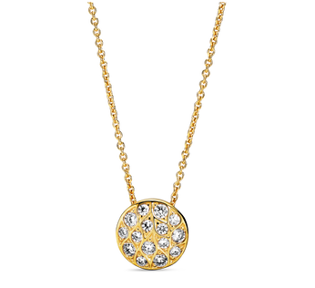 Sparkling Pattern Necklace