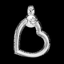 Pendentif en «O» en forme de cœur PandoraMoments