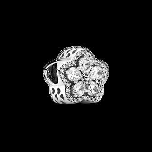 Sparkling Snowflake Pavé Charm
