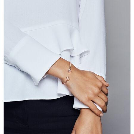Bracelet rigide ouvert Signature PANDORA, PANDORARoseMC