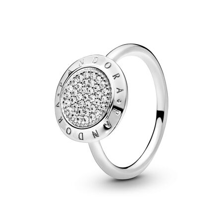 PANDORA Signature Pavé Ring, Clear CZ