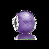 Petite Facets, Purple CZ