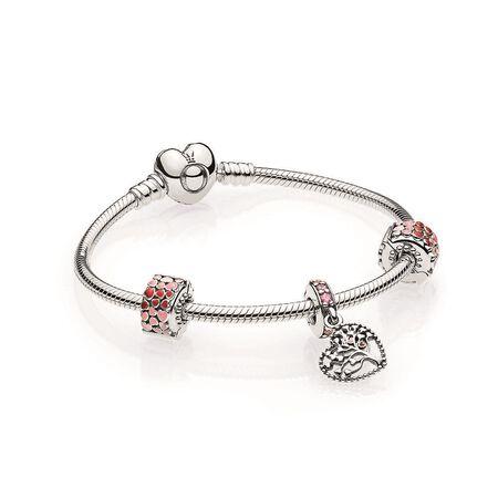 Ensemble-cadeau bracelet Arbre d'amour
