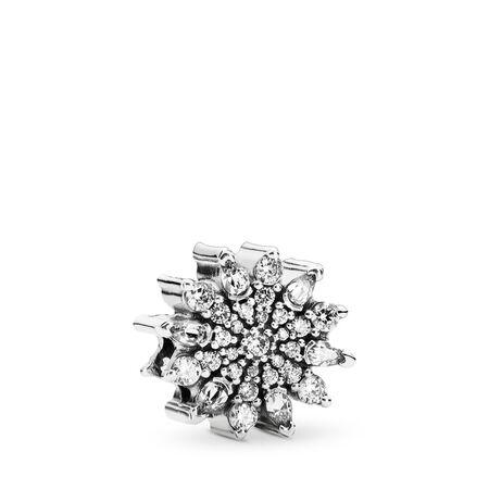 Cristal glacé, cz incolore, Argent sterling, Aucun autre matériel, Aucune couleur, Zircon cubique - PANDORA - #791764CZ