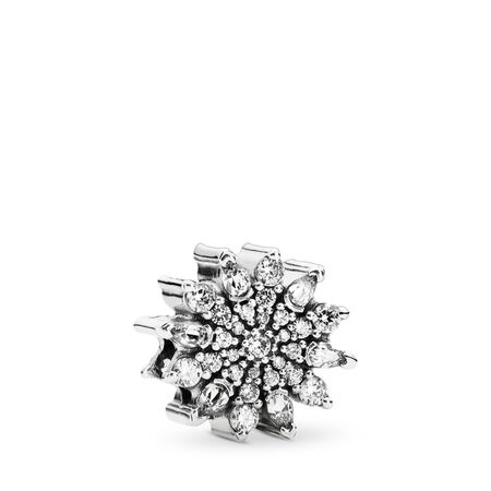 Ice Crystal, Clear CZ, Sterling silver, Cubic Zirconia - PANDORA - #791764CZ