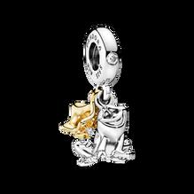 Disney Princess Tiana Frog Prince Dangle Charm