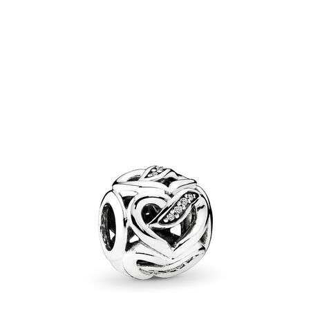 Rêves d'amour, cz incolore, Argent sterling, Aucun autre matériel, Aucune couleur, Zircon cubique - PANDORA - #792046CZ