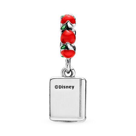 Charm pendentif Disney, Livre de Blanche-Neige et les sept nains, émaux mixtes