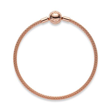 Bracelet maillé en PANDORARose, PANDORA ROSE, Aucun autre matériel, Aucune couleur, Aucune pierre - PANDORA - #586543