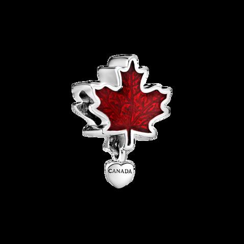 Charm Feuille d'érable rouge Canada