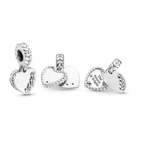 Bright Seeds Charm, Clear CZ