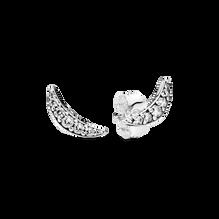 Boucles d'oreille Croissant scintillant