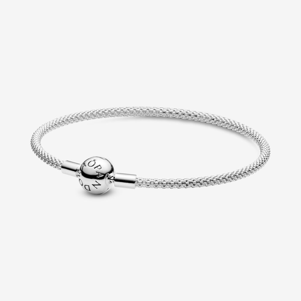 Sterling Silver Mesh Bracelet Sterling Silver Pandora Canada