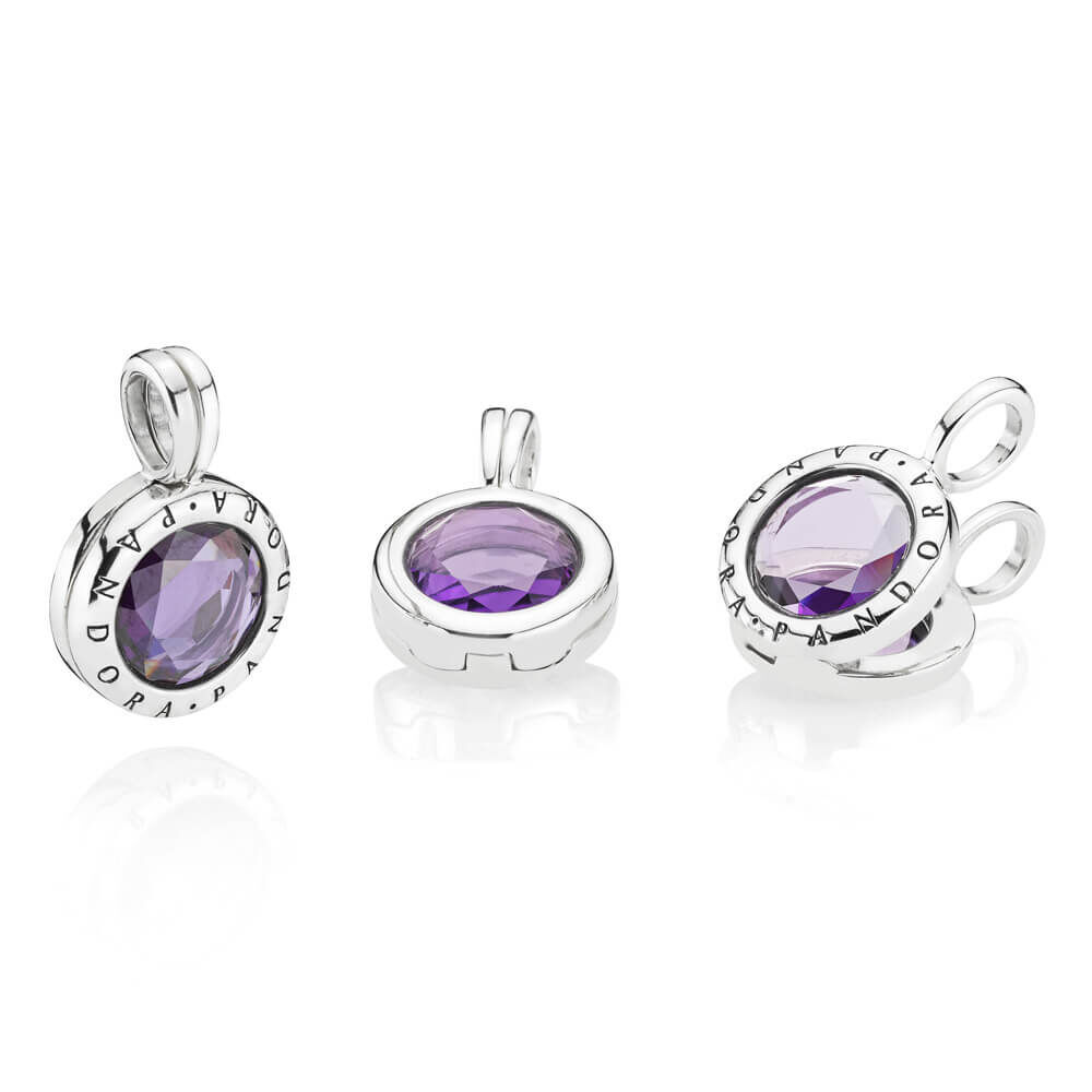 Limited Edition Pandora Faceted Floating Locket Dangle