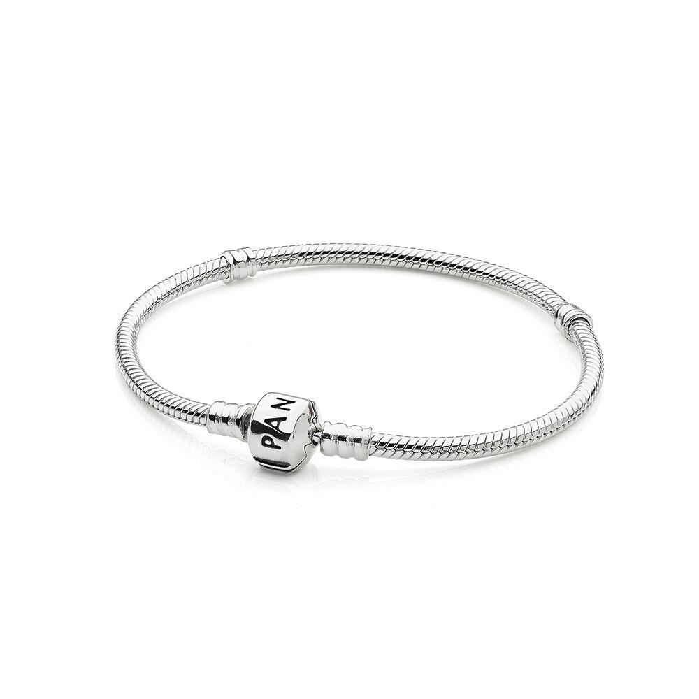 Pandora Pandora Jewelry: Iconic Silver Charm Bracelet