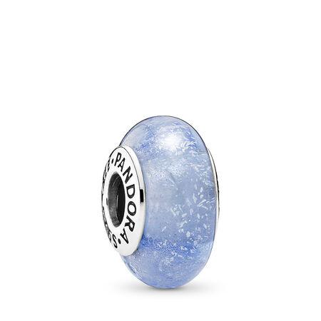 Disney, Cinderella's Signature Color, Sterling silver, Glass, Blue - PANDORA - #791640