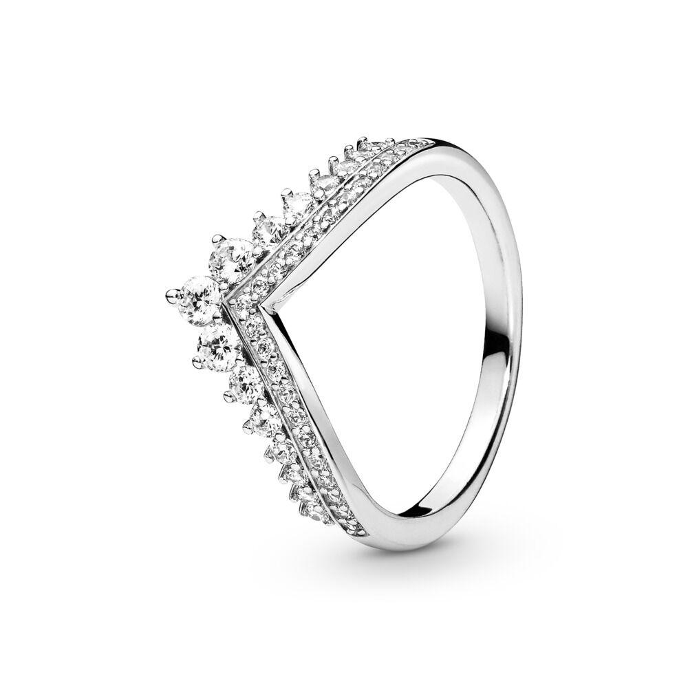 adab4c353 Princess Wish Ring, Clear CZ